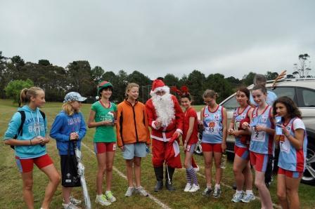 Santa came to Pitt Park 6