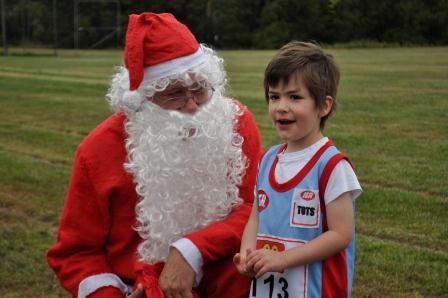 Santa came to Pitt Park 4