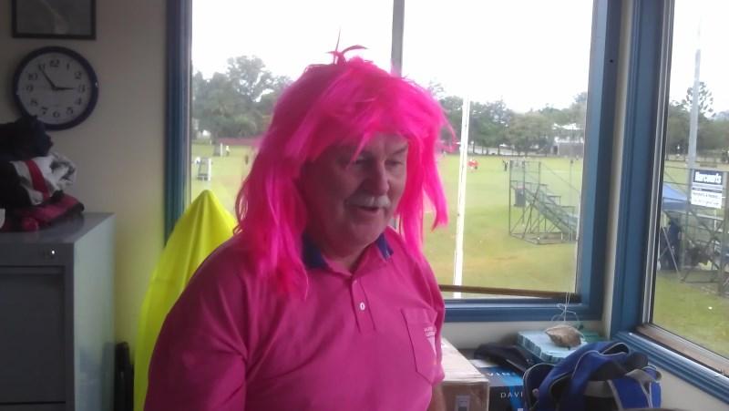 Carl pretty in pink