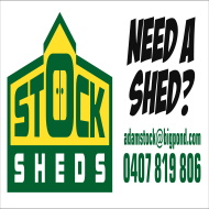Stock Sheds