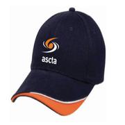 Ascta Hat Navy/Orange