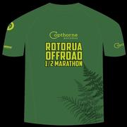 Rotorua Off Road Half Marathon Event T-shirt