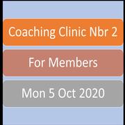 Coaching Clinic 5 Oct - for Members (Web)